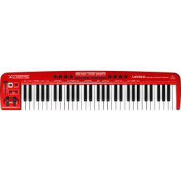 Teclado Controlador MIDI 61 Teclas c/ USB - U CONTROL UMX 610 Behringer