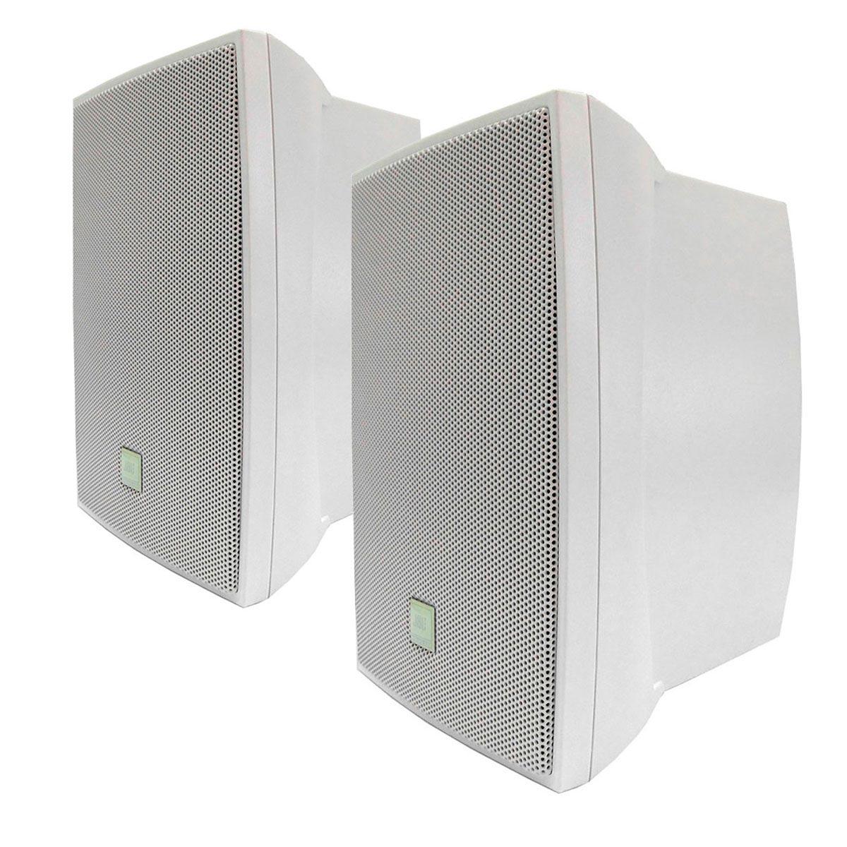 Caixa Passiva p/ Som Ambiente Fal 5 Pol 40W c/ Suporte (Par) C 521 B - JBL