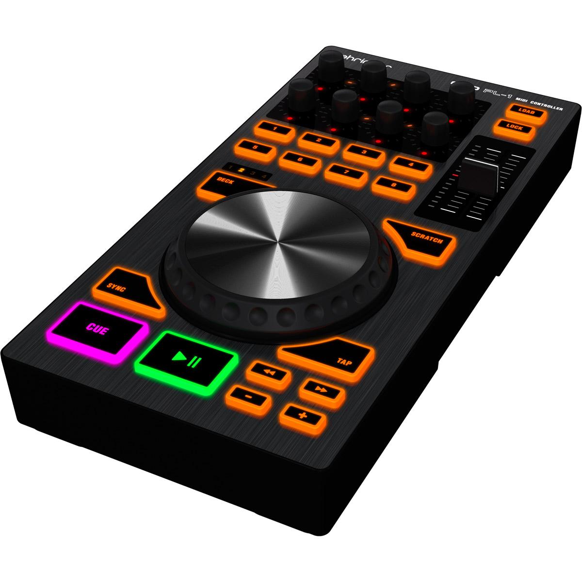 Controladora Midi USB DJ CMD PL 1 - Behringer