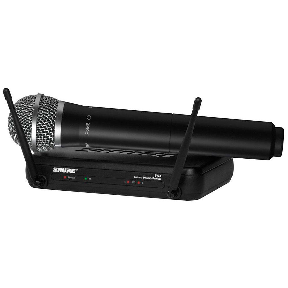 Microfone s/ Fio de Mão UHF SVX 24 BR / PG 58 - Shure
