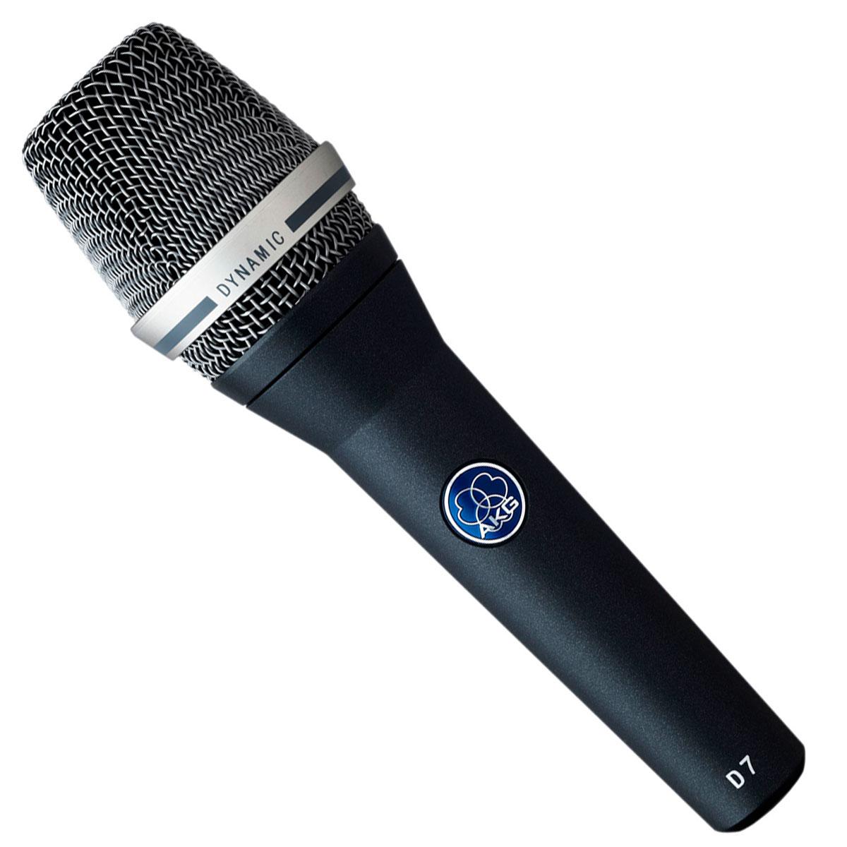 Microfone c/ Fio de Mão Condensador - D 7 S AKG