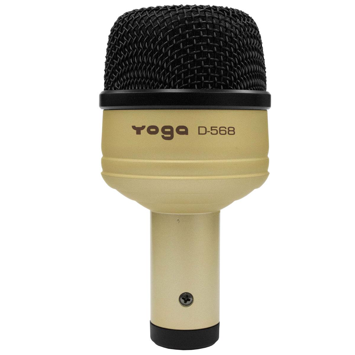 Microfone c/ Fio p/ Bumbo de Bateria - D 568 Yoga