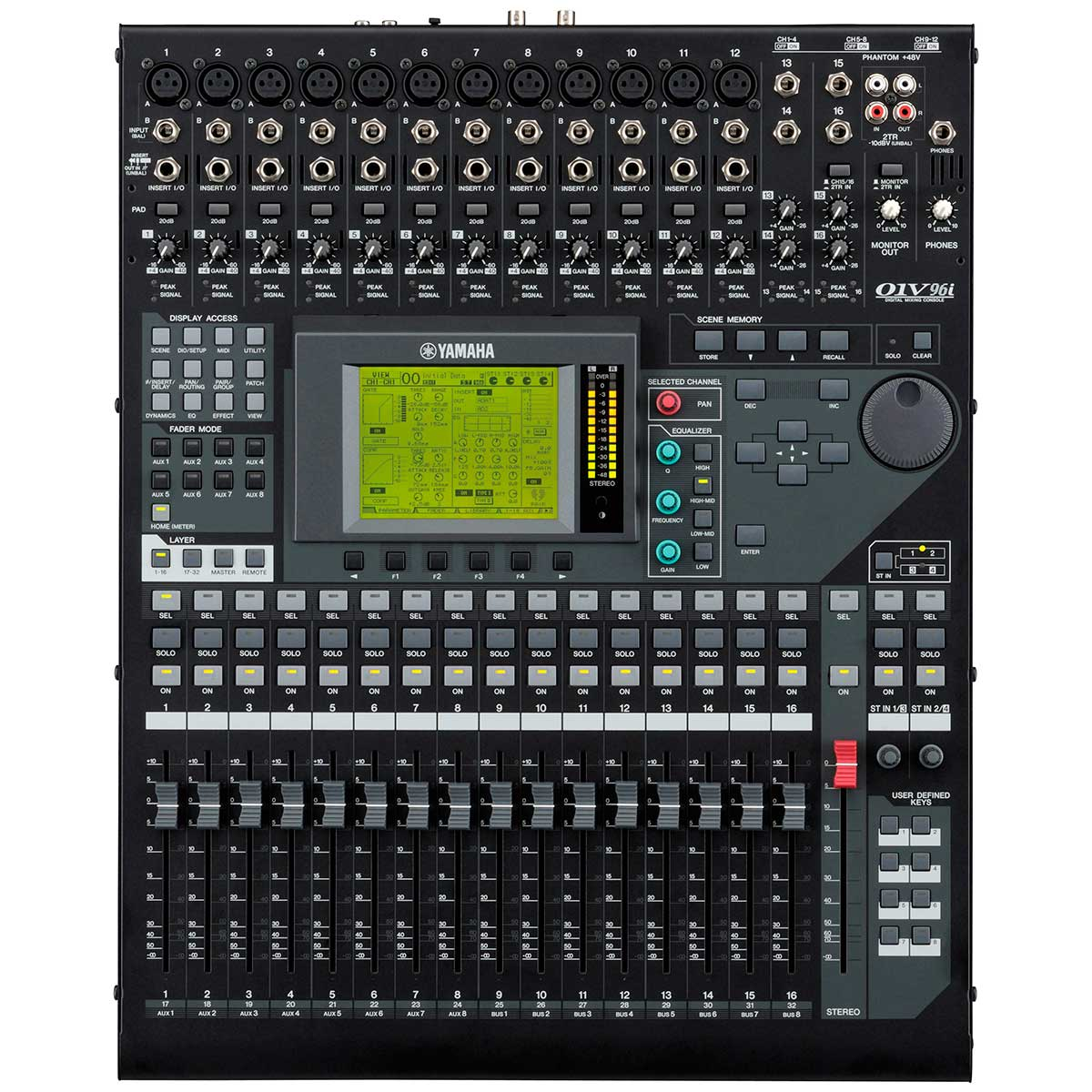 Mesa de Som Digital 16 Canais 01V 96i - Yamaha