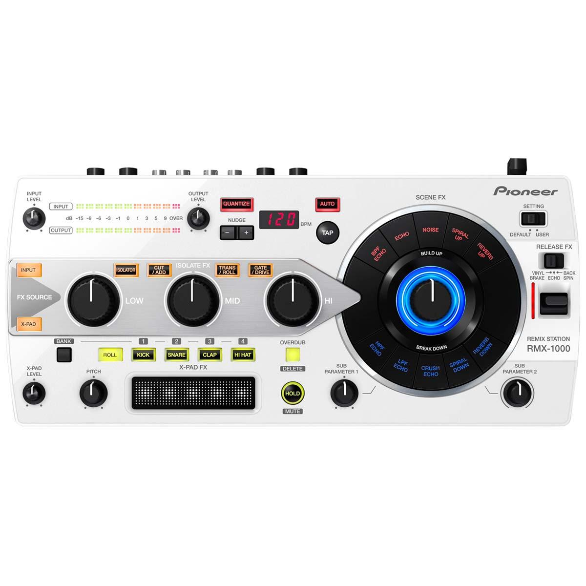 RMX1000 - Controladora DJ Digital RMX 1000 Branca - Pioneer