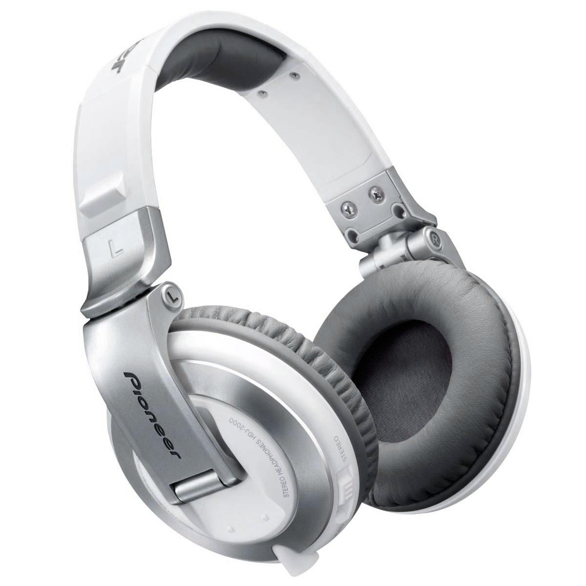 Fone de Ouvido Over-ear p/ DJ 5Hz - 30KHz 36 Ohms - HDJ 2000 Pioneer
