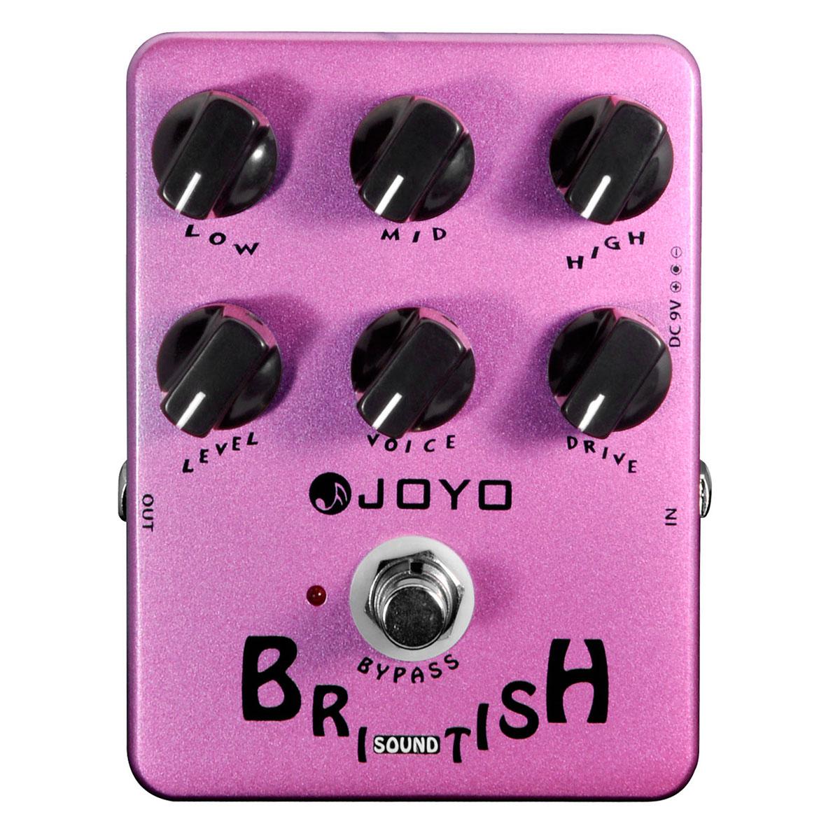 Pedal Emulador British Sound p/ Guitarra - JF 16 Joyo