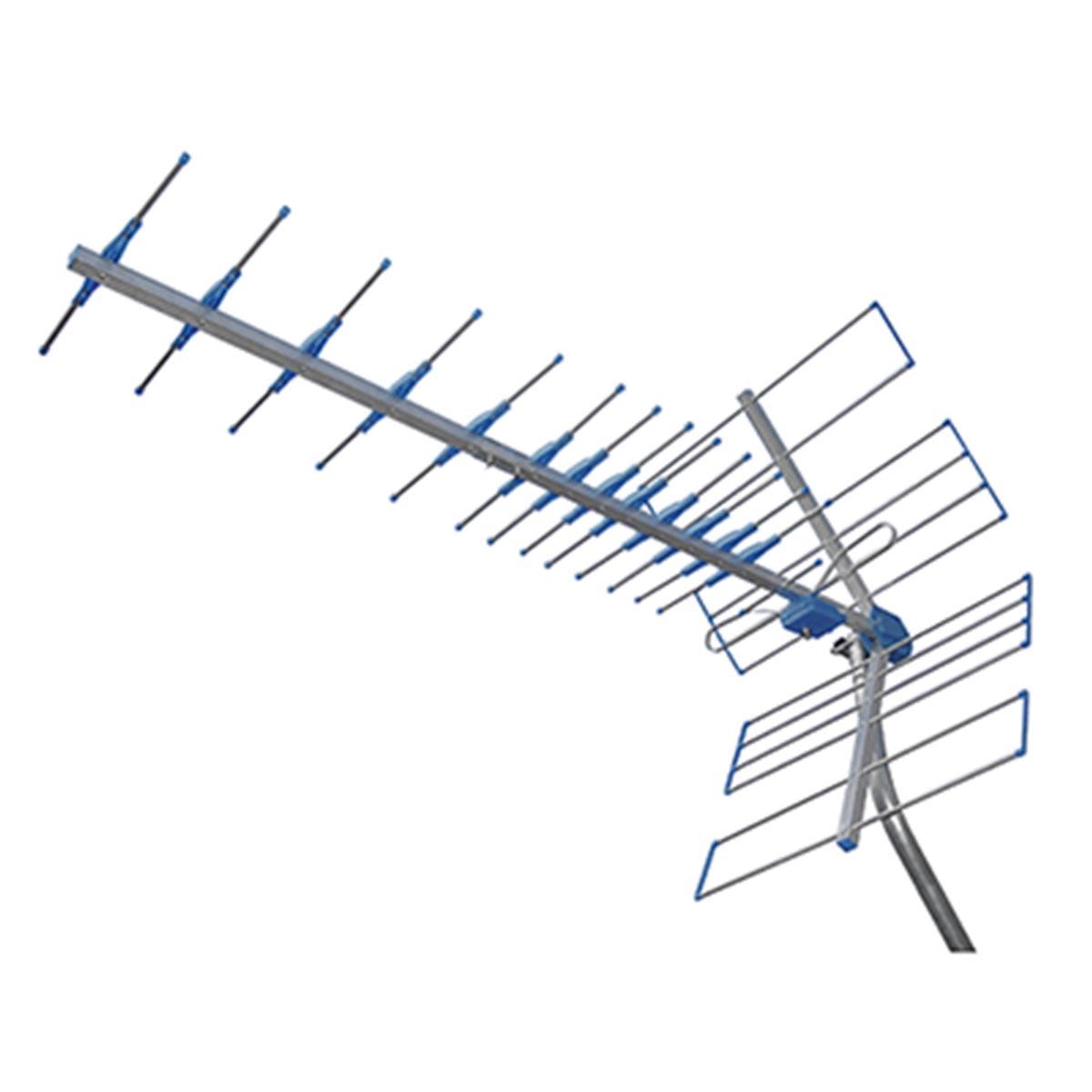 Antena Externa p/ TV UHF/3D/HDTV - Yagi PRO HD 1100 ProEletronic