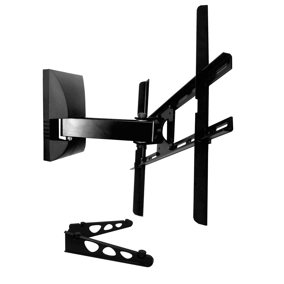 Suporte de Parede Bi-Articulado p/ TV 10 a 70 Pol LCD / LED / Plasma / 3D - SBRP 430 Brasforma