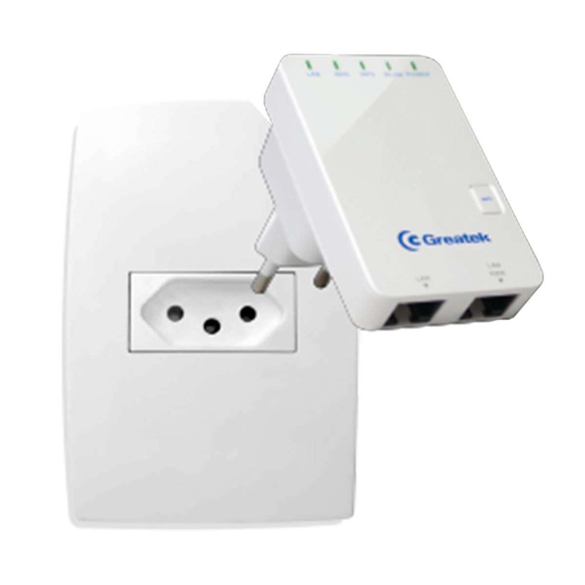 Repetidor WiFi 300Mbps - WR 3300 N Greatek