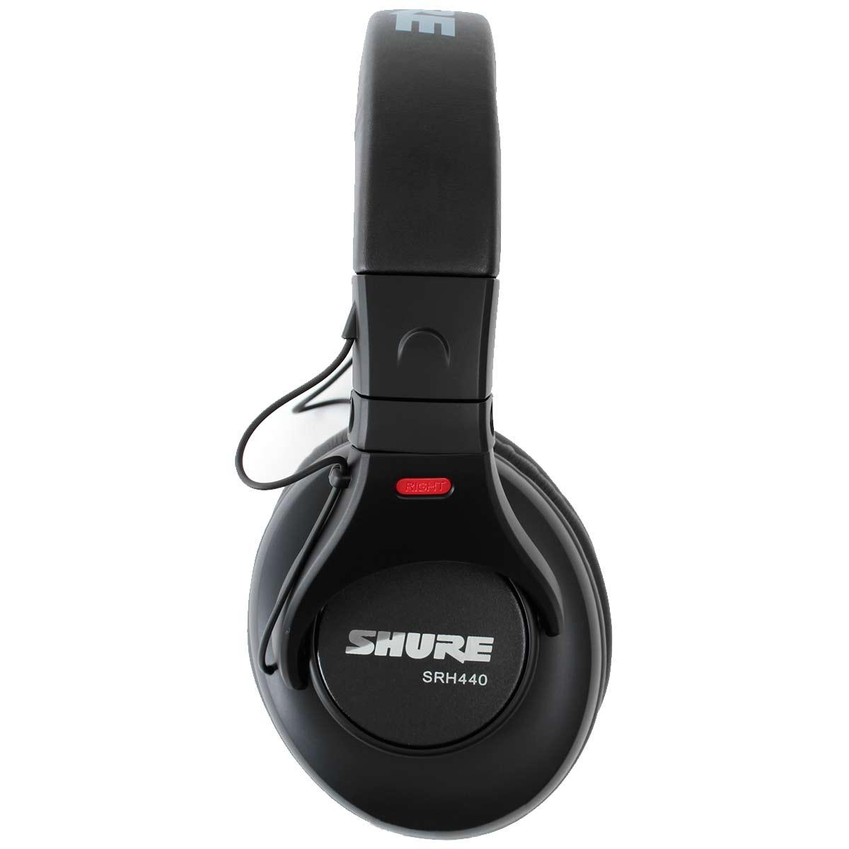 Fone de Ouvido Over-ear 10 Hz - 22 KHz 44 Ohms - SRH 440 Shure