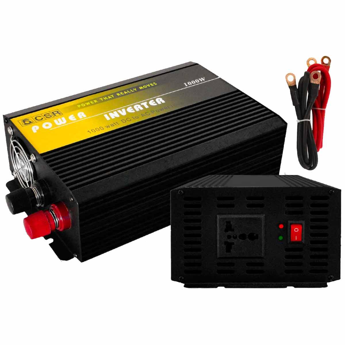 Inversor de Força 1000W 24V para 110V - CSR