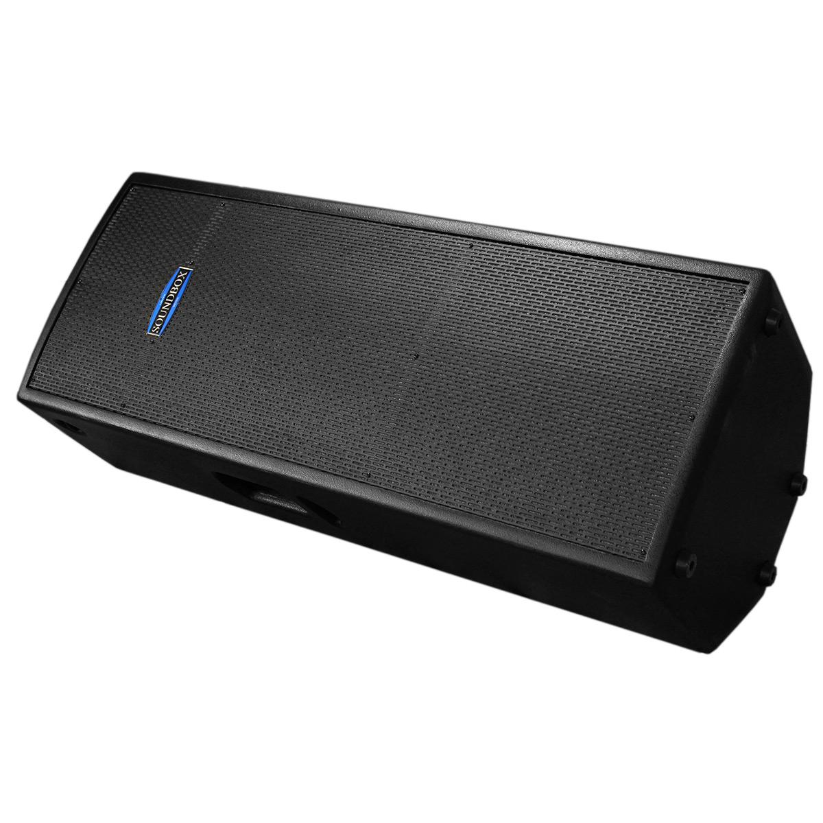 Caixa Ativa Fal 2x15 Pol 600W PA / Monitor / FLY - Thunder 15 Dupla SoundBox