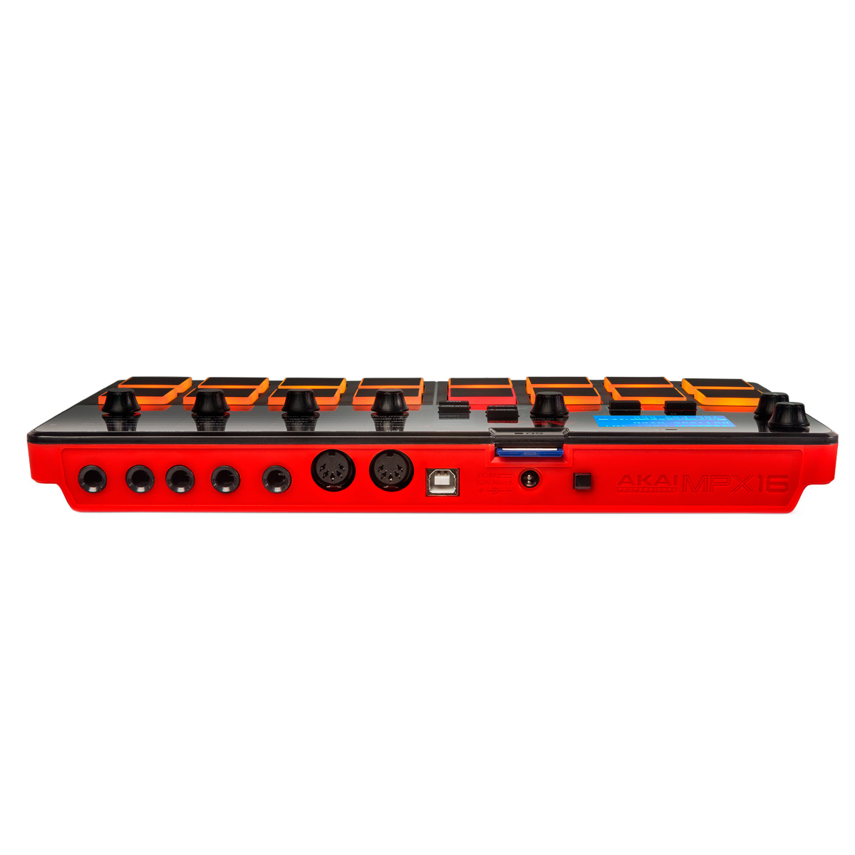 Controladora e Sampler Portátil c/ Gravação MPX 16 - AKAI