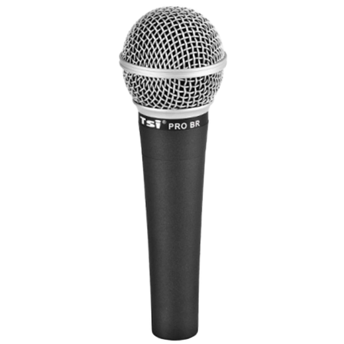 Microfone c/ Fio de Mão Dinâmico - PRO BR TSI