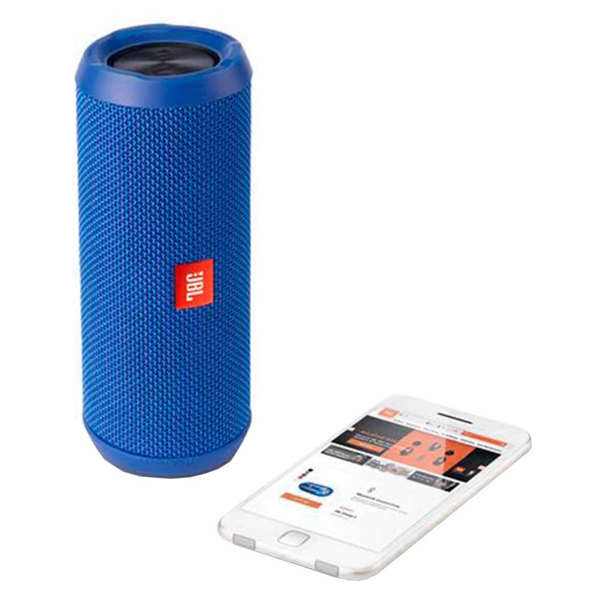 JBLFLIP3 - Caixa de Som Portátil 16W c/ Bluetooth JBL FLIP3 Azul - JBL