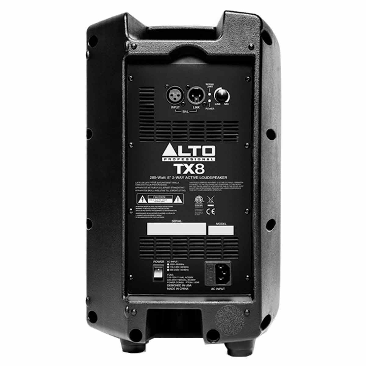 Caixa Ativa Fal 8 Pol 140W - TX 8 Alto