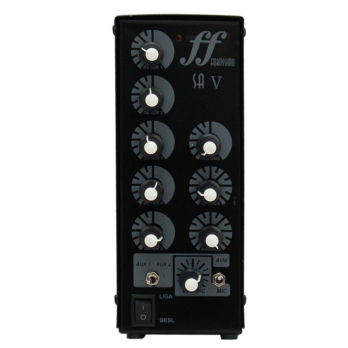 Amplificador Som Ambiente 60W até 20 Caixas - SA 5 FORT DSK
