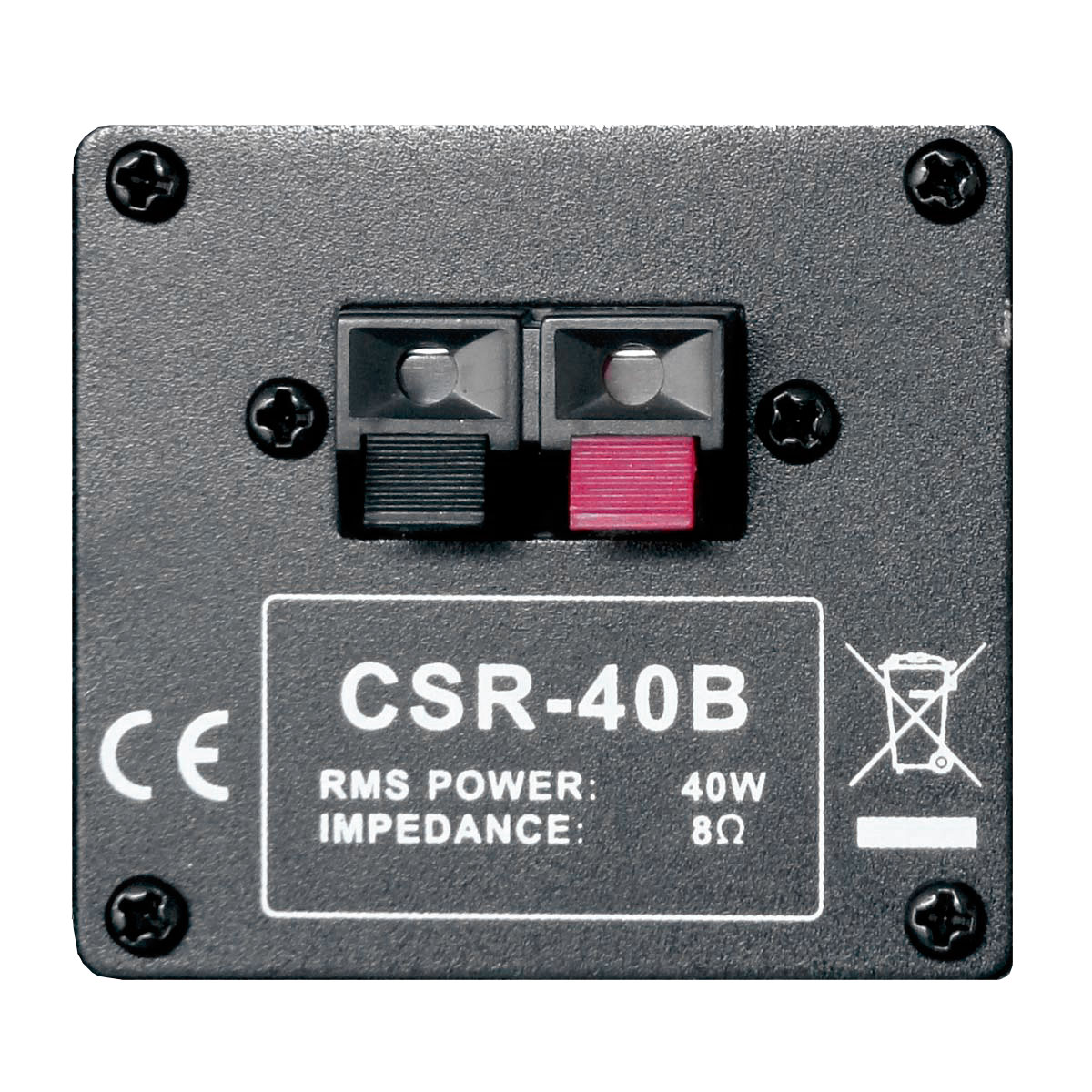 Caixa Passiva p/ Som Ambiente Fal 4 Pol 40W c/ Suporte (Par) - 40 B CSR