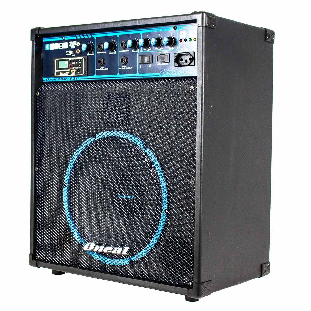 Cubo Multiuso Fal 10 Pol 80W c/ Bateria Interna / USB / Bluetooth - OCM 390 BT 12V Oneal