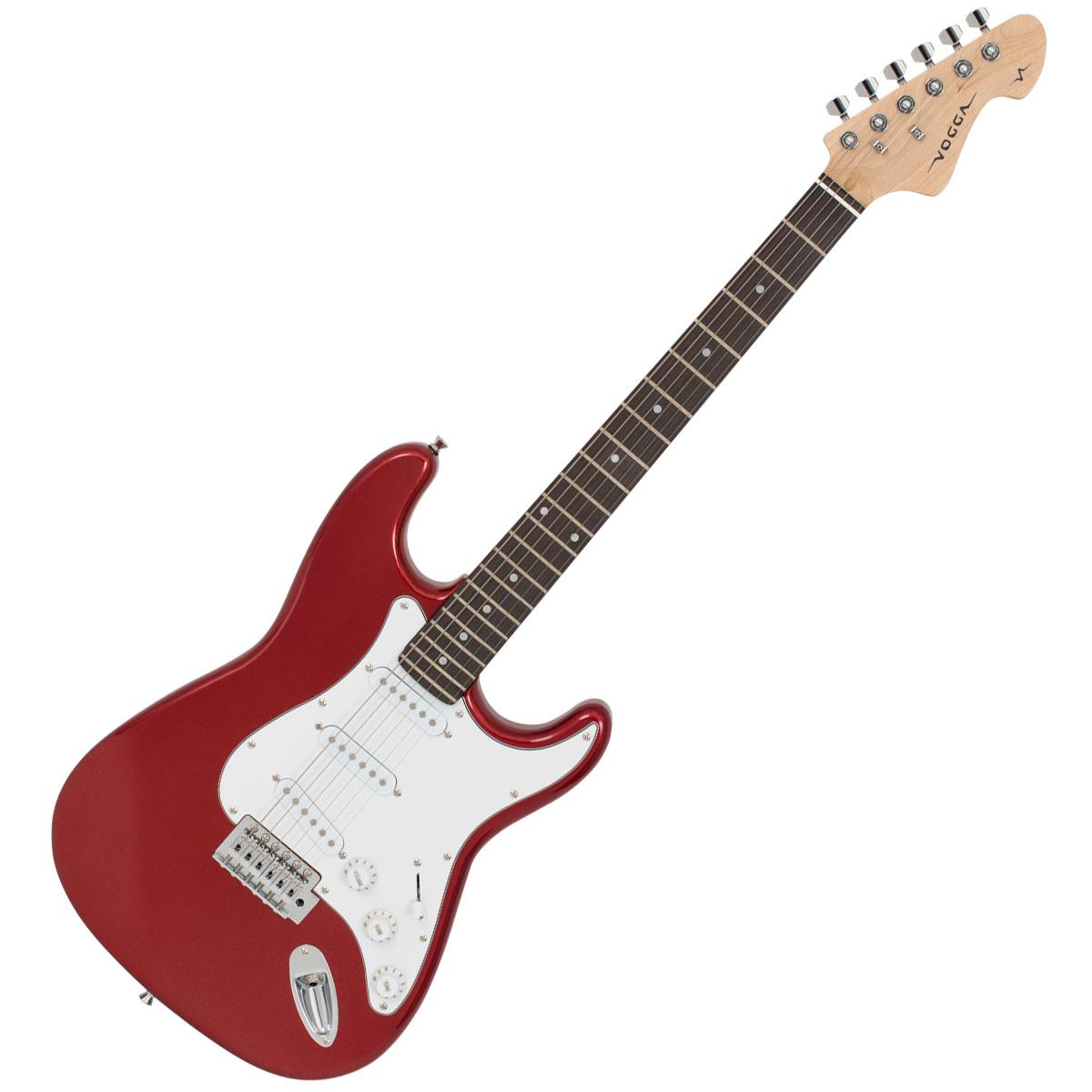 Guitarra Strato 6 Cordas 22 Trastes - VCG 601 N Vogga