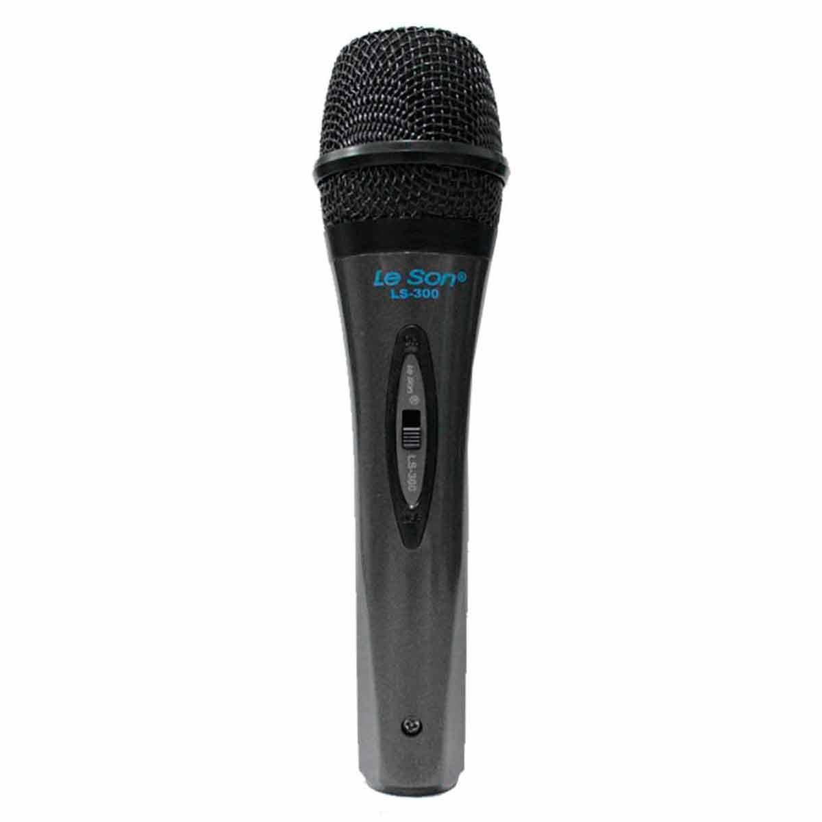 Microfone c/ Fio de Mão - LS 300 Le Son
