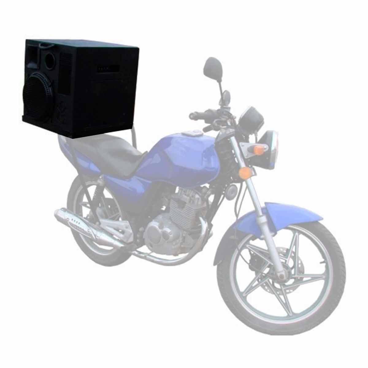 Caixa Ativa p/ Propagandas em Geral Fal 2x12 Pol 200W c/ USB - Moto Volante Leacs