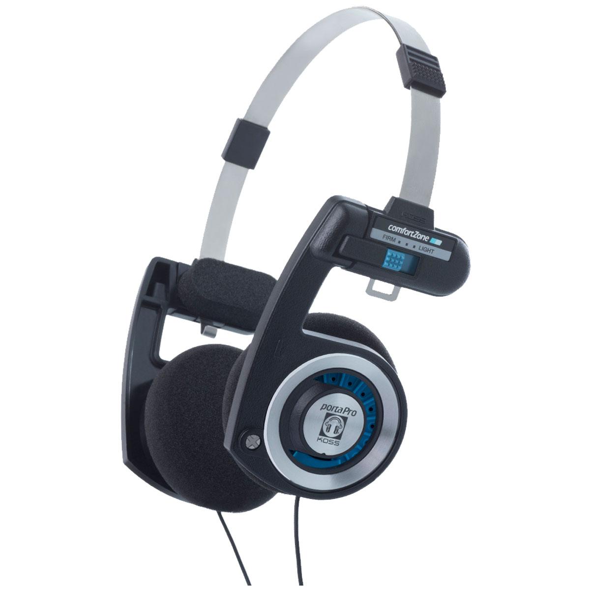 Fone de Ouvido On-ear Profissional 15 Hz - 25 KHz 60 Ohms p/ Retorno de Bandas - Porta PRO c/ Garantia Vitalícia KOSS