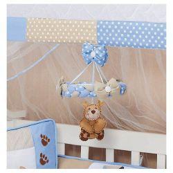 Móbile para Berço de Bebê - Papai Urso Baby