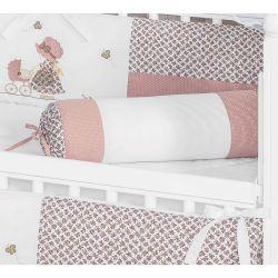 Rolinho Avulso para Quarto de Bebê Coleção Carrinho de Boneca  - Rosê