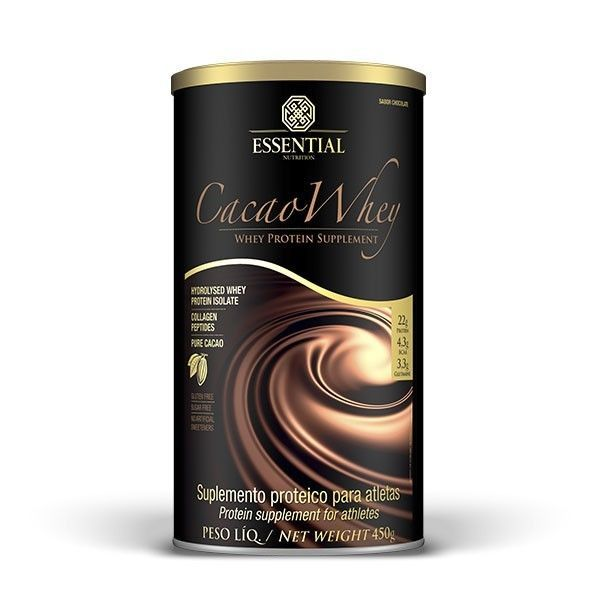 Cacau Whey - 450g - Essential Nutrition