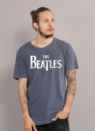 T-shirt Premium Masculina The Beatles Classic Logo