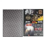 Caderno AC/DC Back in Black 1 Matéria