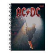 Caderno AC/DC Guitar 10 Matérias