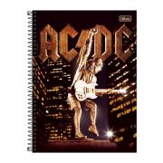 Caderno AC/DC Angus Young Upper 1 Matéria