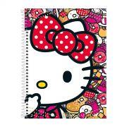 Caderno Hello Kitty Donuts 1 Matéria