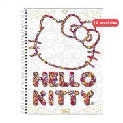 Caderno Hello Kitty White 10 Matérias
