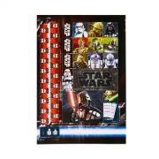 Caderno Star Wars Primeira Ordem 10 Matérias