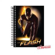 Caderno The Flash Serie Barry 10 Matérias