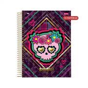 Caderno TodaTeen Fashion Skull 10 Matérias