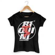 Camiseta Feminina Biquini Cavadão - Logo Ao Vivo