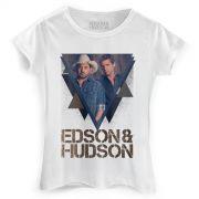 Camiseta Feminina Edson & Hudson Foto Triângulo