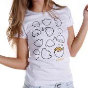 Camiseta Feminina Gudetama Ovoterapia