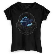 Camiseta Feminina Halo Locke Helmet