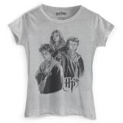 Camiseta Feminina Harry Potter Trio