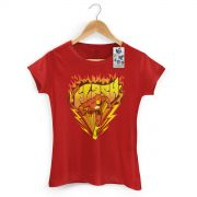 Camiseta Feminina The Flash Fire