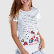 Camiseta Hello Kitty Say Hello To Me