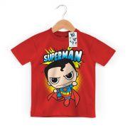 Camiseta Infantil Superman Kid