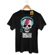 Camiseta Masculina 89FM A Rádio Rock Thunder Skull