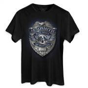 Camiseta Masculina Aerosmith Bad Boys Of Boston