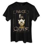 Camiseta Masculina Alice Cooper Photo